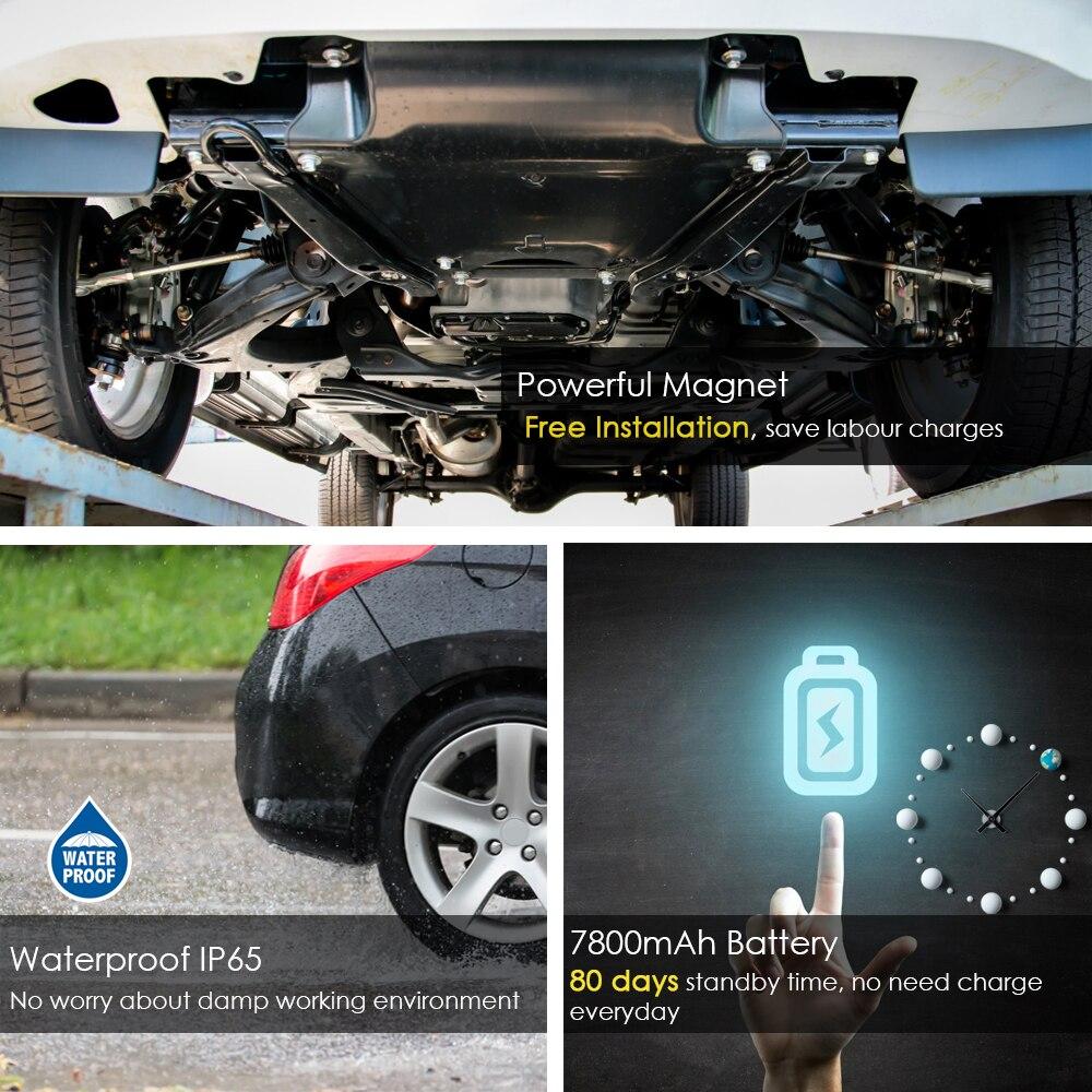 3G GPS Per Auto Tracker TKSTAR TK915 3G 80 giorni In Standby Magnete Impermeabile In Tempo Reale di GPS Per Auto Tracker Allarme di Scossa TRASPORTO APP PK TK905 TK915 - 4