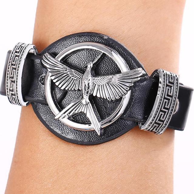 The Hunger Games Cosplay Bird Punk Bracelets & Bangles