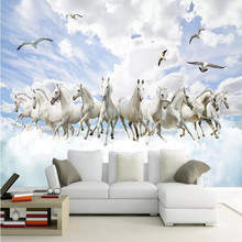 Prince Charming 3D fashion stereo landscape TV background professional production wallpaper mural custom photo