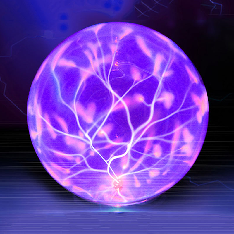 Plasma Ball Light Magic Crysta Ball Lamp Ion Sphere Lightning Carnival Atmosphere Lamps For KTV Purify Air Novelty Night Lights