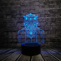 NEW Star Wars Darth Maul Vassal Jedi Knight Figure Lamp Multicolor 3D Visual Touch USB Led Bedroom Night light Mood lampara Gift