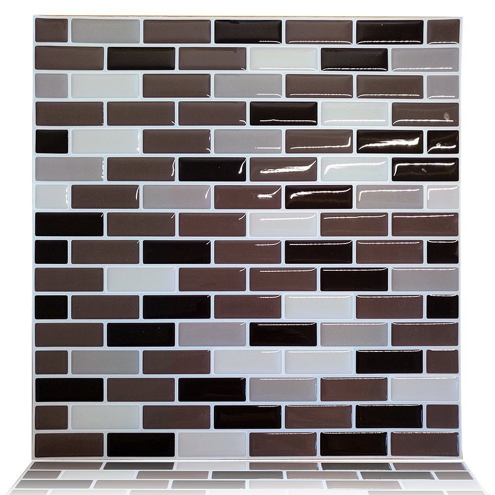 stick on tiles for kitchen walls cocotik vinyl wall tile peel and stick wall kitchen tile 9435