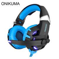 ONIKUMA K2 Gaming Headphones Casque 7 1 Channel Sound Stereo USB Wired Headset With Microphone Mic