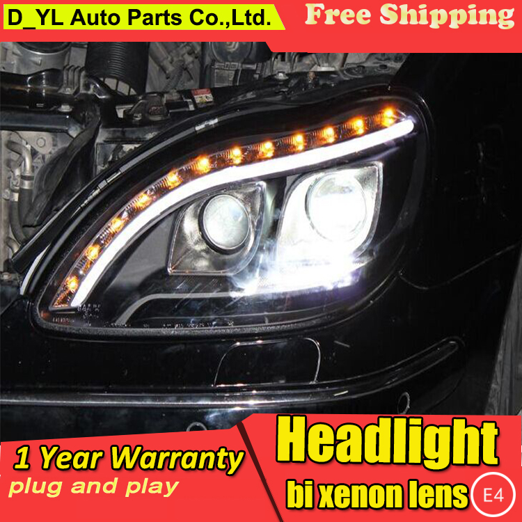 Car Styling for Ben Z S280 S320 S500 S600 Headlights 1998 2001 W220 LED Headlight DRL