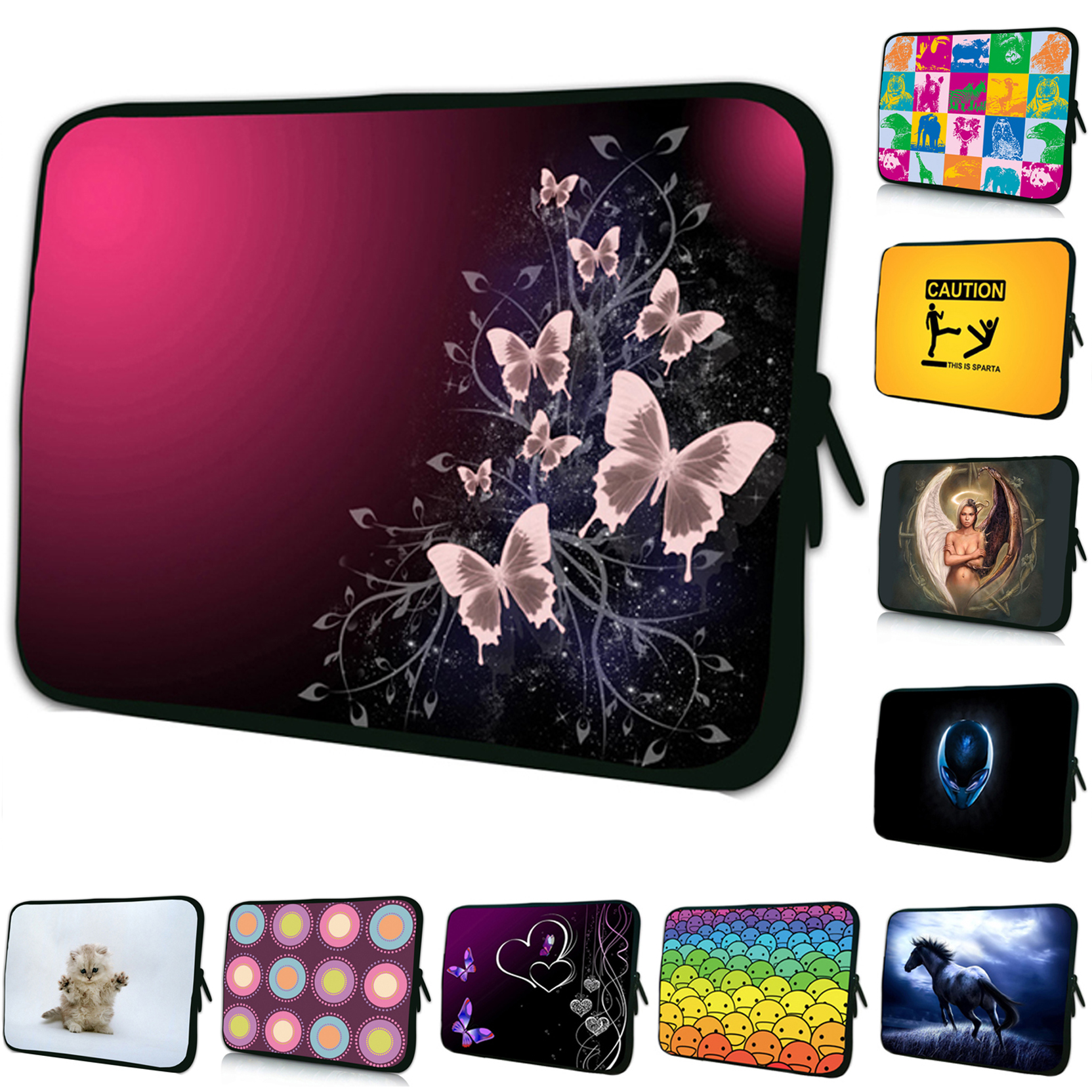 Girl's Sleeve Soft 7 inch Tablet PC Netbook Cases For 7 8.0 7.9 7.7 inch Amazon Kindle Samsung Galaxy Tab 8.0 Apple Ipad Mini PC waterproof zipper 10 inch 10 1 9 7 tablet netbook pc sleeve bag soft portable cover cases pouch for ipad air 9 7 1st 2 2nd 4th