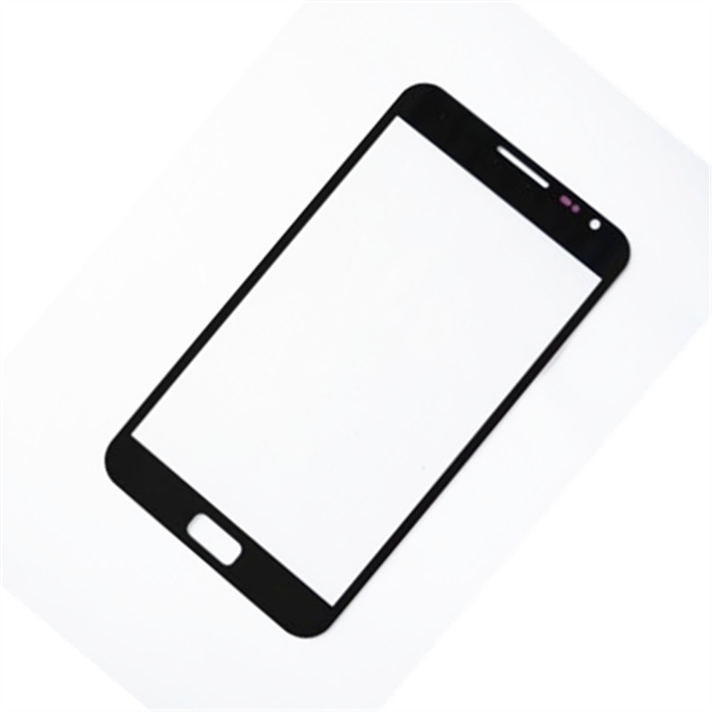 50pcs grade A quality Black White Replacement Screen Front Glass Lens For Samsung Note 1 i9220 Outer Glass