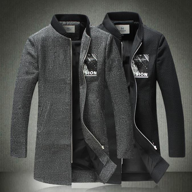 Collection Grey Wool Coat Mens Pictures - Reikian