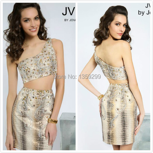 2d962c6b03a8 One Shudder Crystal Stone Short Mini sheath Pant Suits Beadwork European  Style Party Cocktail Homecoming Dresses a932