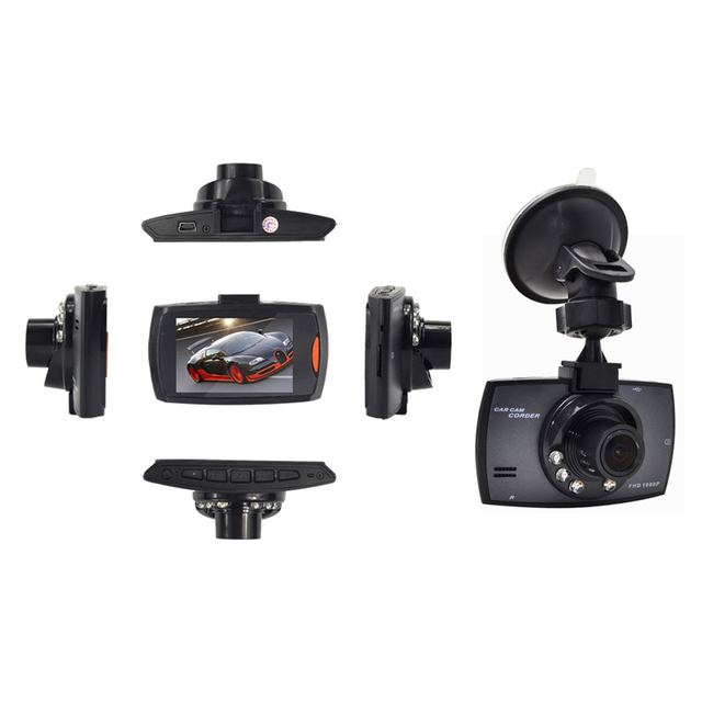 Full HD 1080P Car DVR 2.7 Inch IPS Screen Car Camera Dual Lens Dash Cam Video Recorder Night Vision G-sensor Registrator 4