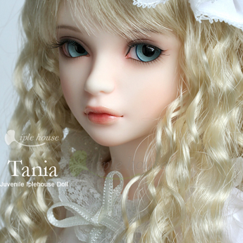 New Iplehouse IP Jid Tania bjd sd doll 1/4 body model reborn girls High Quality resin toys  sculpt moppet free eyes makeup shop ucanaan 1 3 bjd doll reborn girls dolls 19 jointed body chinese style maxi long dress wig makeup dressup diy sd kids toys