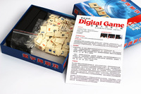 Table game card digital card game 2 to 6 people on the battle version of parent child intellectual gathering travel trumpet 6 pe