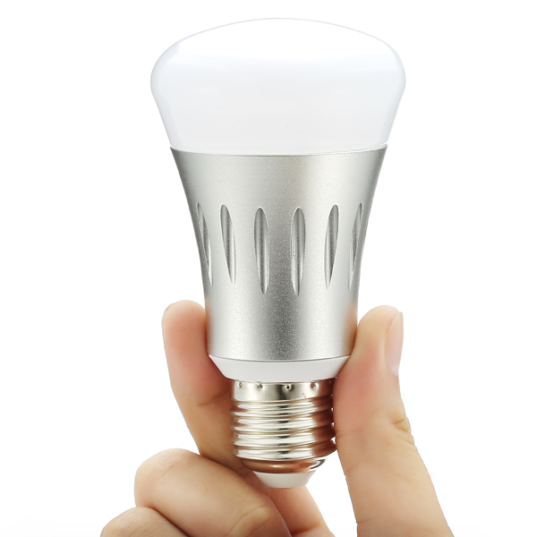 smart led light bulb wifi light bulb compatible with alexa and google home cellphone control. Black Bedroom Furniture Sets. Home Design Ideas