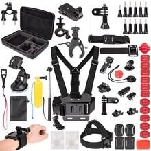 for Gopro Accessories Kit HD Go Pro HERO6 5 4 3 & SJ4000/SJ5000//SJ6000/SJCAM Xiao mi Yi 4K/M20 4K/AKASO EK7000
