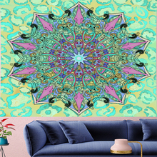 Indian Mandala Tapestry Wall Hanging Sandy Beach Throw Rug Blanket Camping Tent Travel Mattress Sleeping Pad Mandala Tapestry