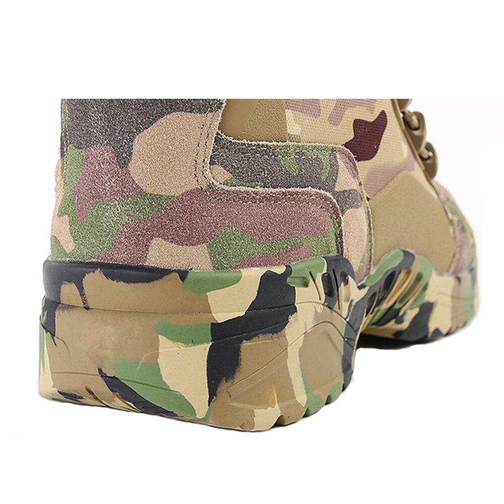 TENNEIGHT/уличные тактические ботинки для пустыни и охоты; мужские военные ботинки; камуфляжная спортивная обувь для альпинизма; обувь для путешествий и прогулок - 5