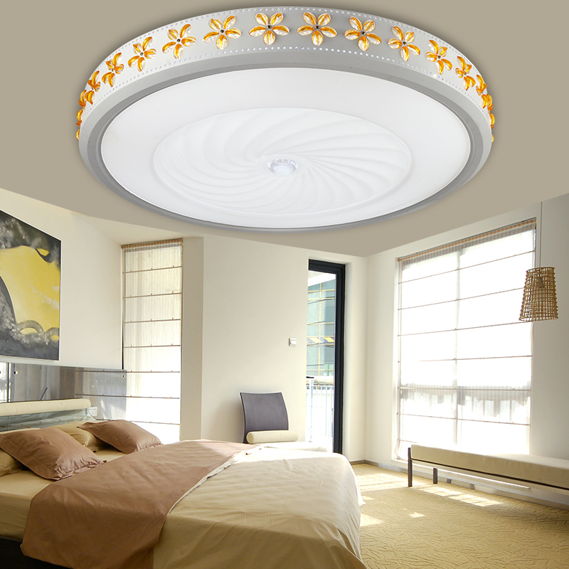 Modern led ceiling lights for living room bedroom foyer plafond lamp luminaria de teto ceiling modern crystal lighting fixtures sinfull ultrathin wood sheepskin japanese tatami ceiling lights bedroom foyer asile led ceiling lighting luminaria 220v lamp
