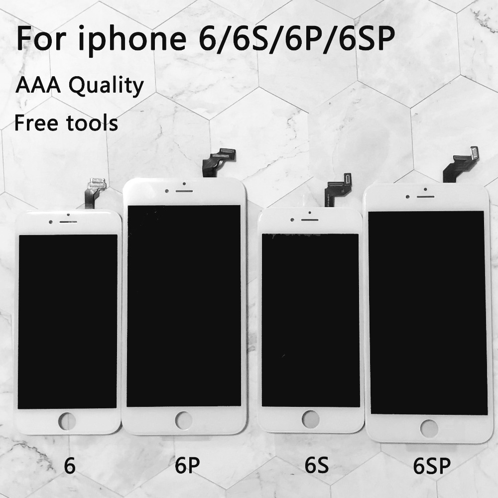 finest selection 03117 8ef5d US $9.97 32% OFF|Lcd Replacement For iPhone 6 LCD Screen Digitizer Assembly  Display Touch for iphone 6S screen AAA Quality for iphone 6s plus lcd-in ...