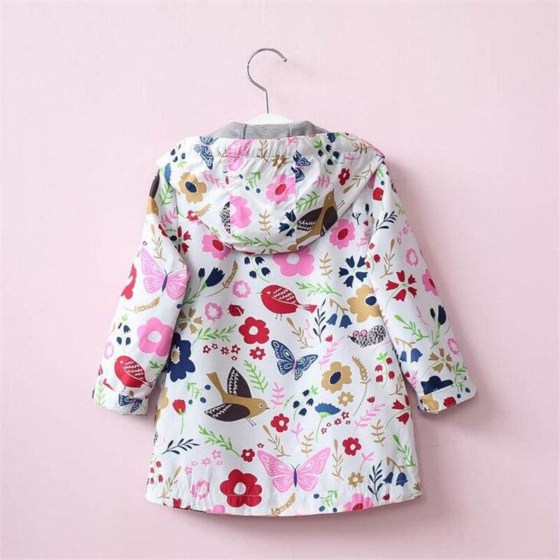 Купить с кэшбэком New Baby Girls Coats 2019 Winter Jacket For Girls Coat Kids Warm Hooded Waterproof Outerwear Children Clothes Infant Girls Coat