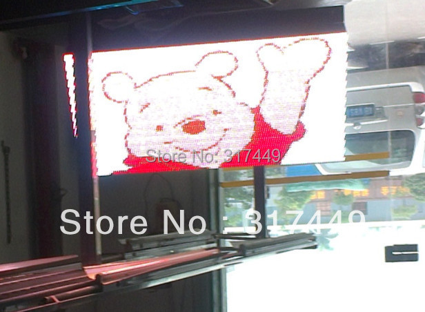 P10 RGB LED SIGN OUTDOOR  96cm x 48cm,38″ x 19″,FRONT OPEN  RGB led moving full color led sign scrolling message board