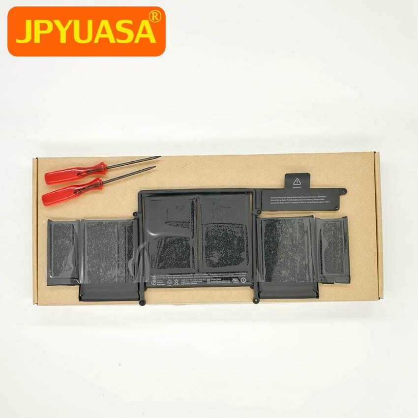 10 pièces/lot Nouveau batterie d'ordinateur portable A1493 020-8148 Pour Macbook Pro Retina 13 pouces A1502 Fin 2013 Milieu 2014 Sur 6330 mAh