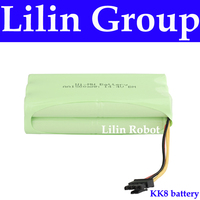 (For KK8) Battery for Robot Vacuum Cleaner, DC14.4V, 1500mAh, Ni MH, 1pc/pack