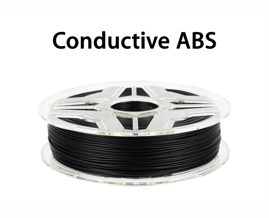 Free Shipping 1.75mm No Warp Conductive ABS Filament 10 meters 25g Sample 3D Printer Pen Supplies Antistatic Printing Material 11