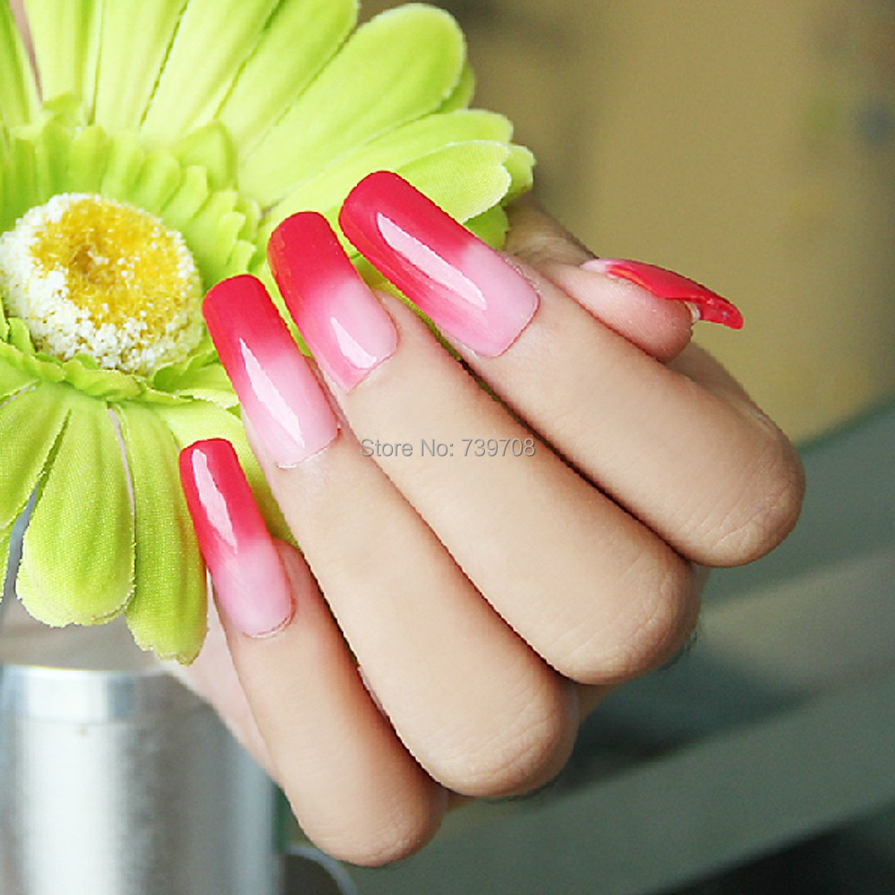 Y S Pick One Chameleon Temperature Change Color Uv Gel Nail Polish Long Lasting 15ml Soak Off Varnish In From Beauty Health On