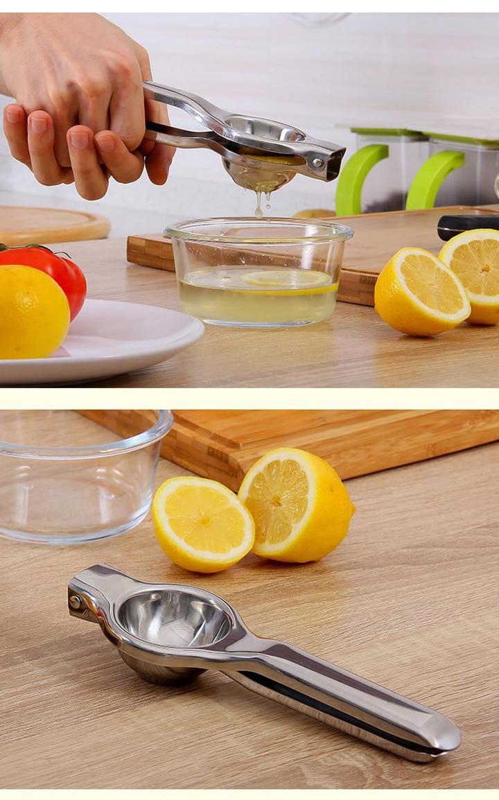 Manual Operation Juicing Organ Squeeze Lemon Juice Artifact Household Hand Pressure Orange Clip Mini- Small-sized Liquidizer 33