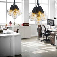 Vintage Kitchen Black Pendant Lamps Lighting Women Light Dress Table Socks For Bedroom Room Lightning Floor