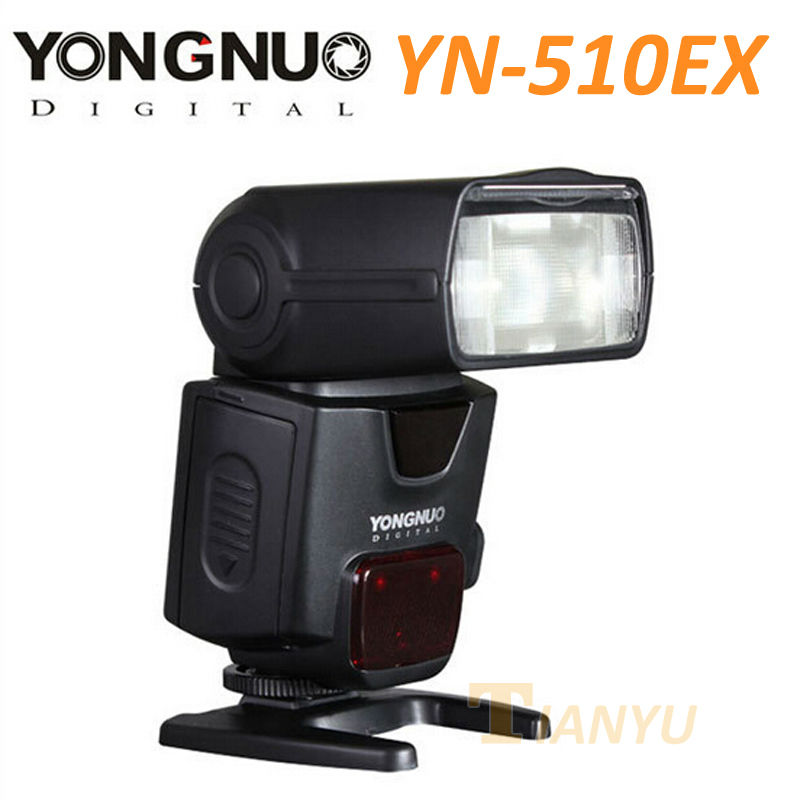 Yongnuo Speedlite YN510EX YN-510EX Off-camera TTL Slave Flash for Canon Rebel T5i T4i T3i T2i XSi T3 580EX II 430EX II 600EX-R