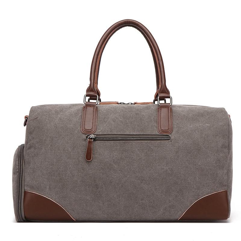 Haute qualité toile hommes voyage sacs homme sac Portable voyage polochon sacs pour homme grande capacité épaule sac à main sac à dos