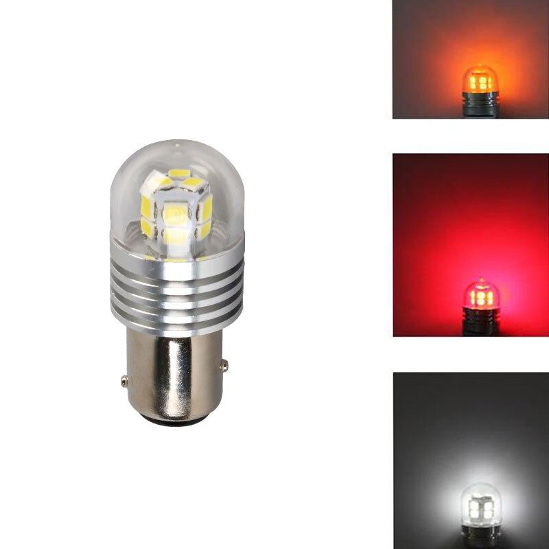 İsti Satış S25 1156 Avtomobil LED Motosiklet Ampullər Ön Arka - Avtomobil işıqları - Fotoqrafiya 2
