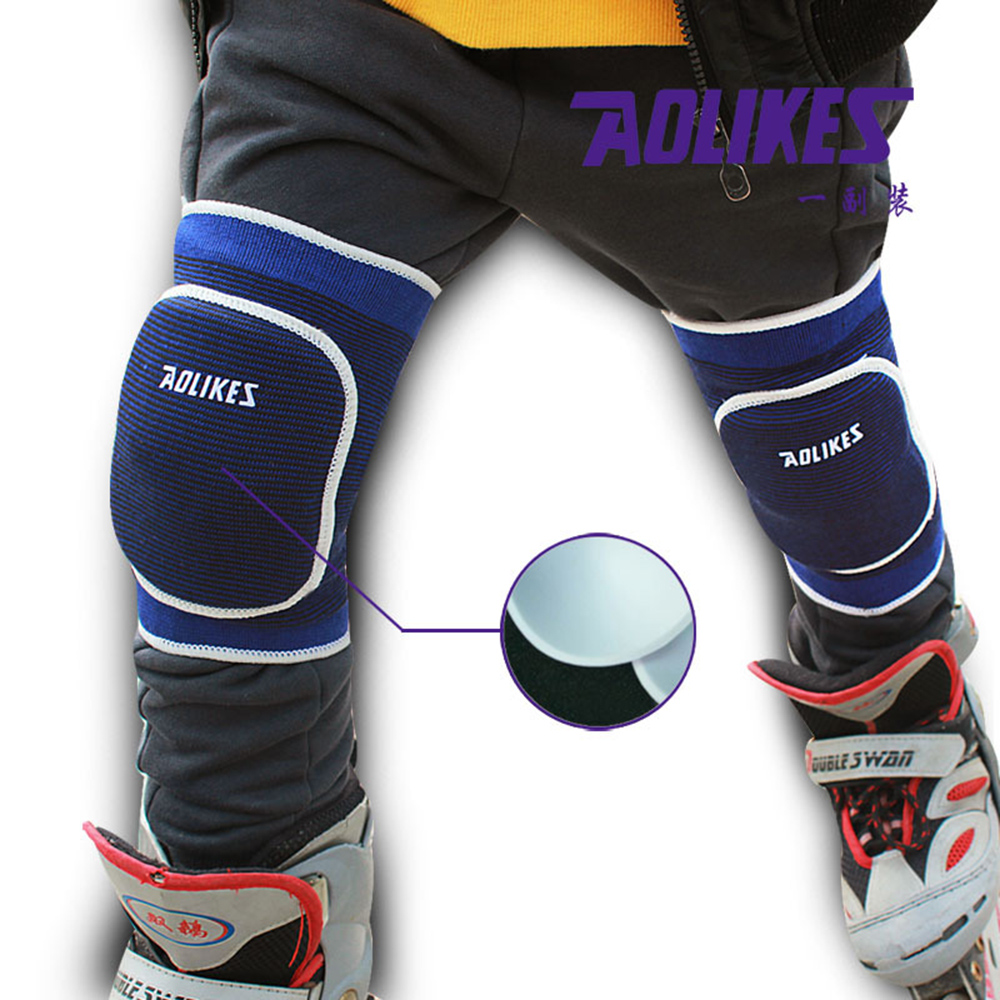 Industrious Children Sports Kneepad Dancing Skating Safety Guard Knee Protector Sponge Anti-shock Knee Brace Pads Sport Accessories