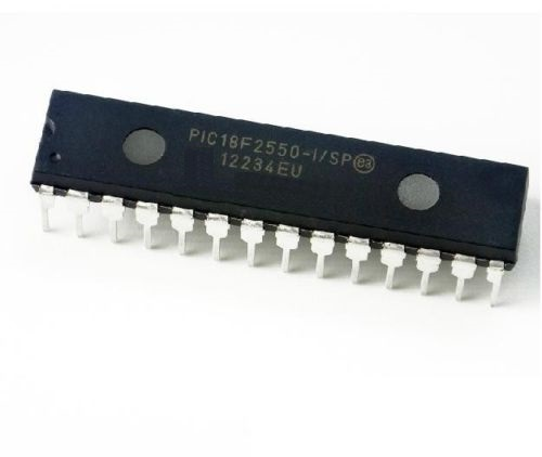 1PCS PIC18F2550-I/SP PIC18F2550 IC PIC MCU FLASH 16KX16 28SDIP NEW