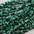 86cm Natural Stones Irregular Green Malachite Broken Beads Loose Accessories Ethnic Style Bracelet Accessories For Women Girls