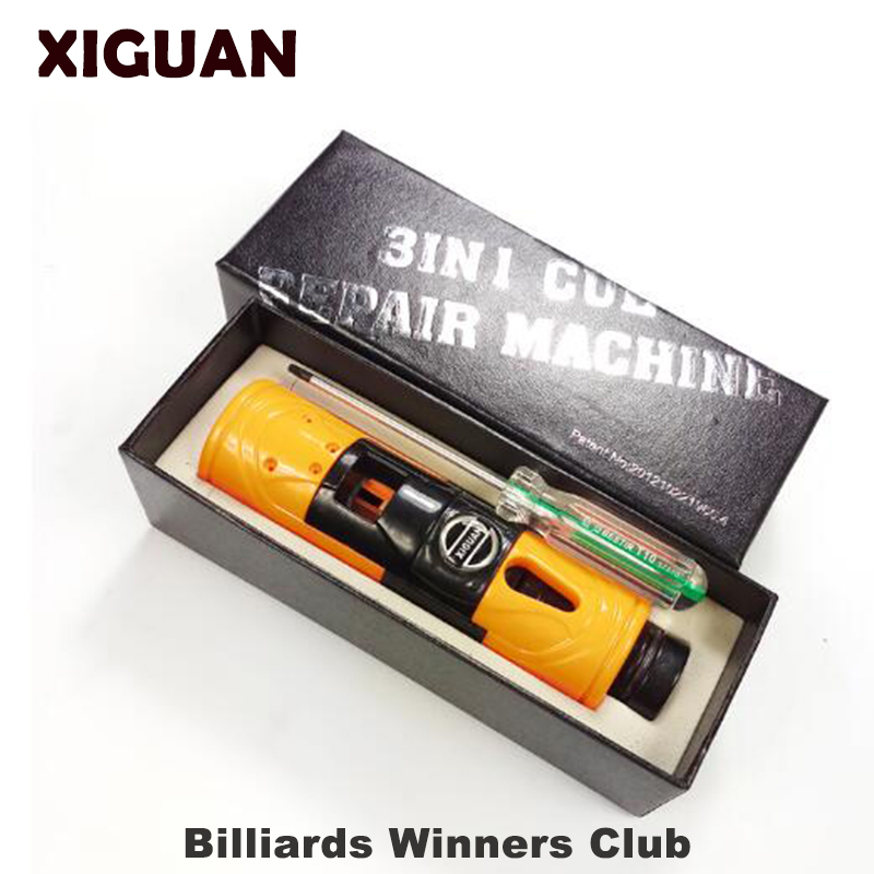 Original XIGUAN Billiard Pool Training Tool Multi functional Tip Repair Tool trimmer side cutting ferrule cutting