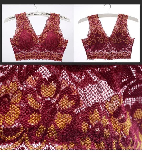 3 Pieces / Lot Women Bra Sexy Lace Push Up Bra Bras For Women Sujetador Women's Intimates Underwear Lady Lingerie 5