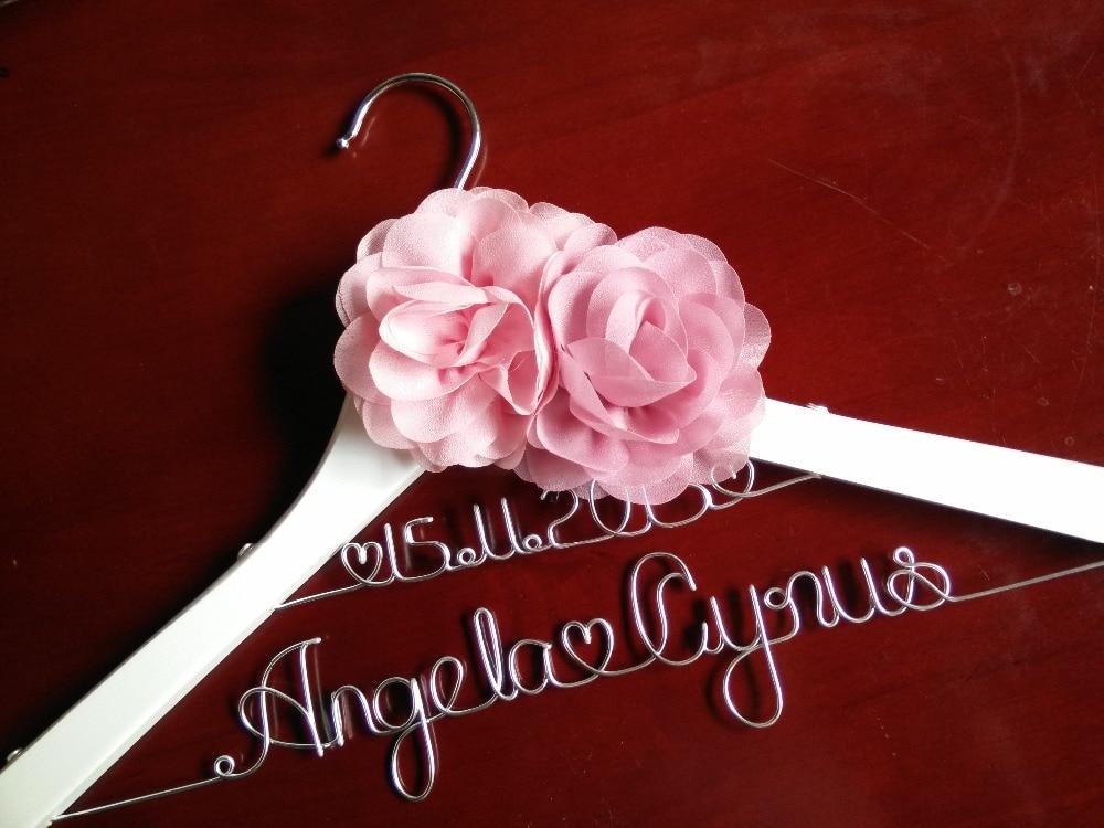 Försäljning Personlig Bröllop Hanger, brudtärna gåvor, namn - Hemlagring och organisation