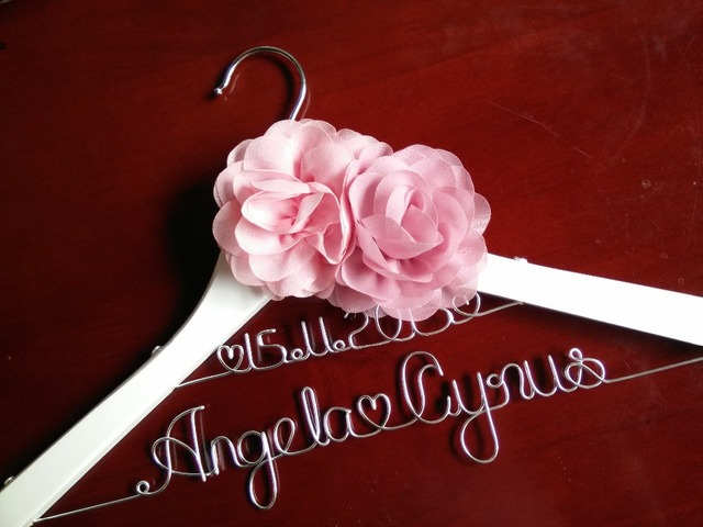 Sale Personalized Wedding Hanger, bridesmaid gifts, name hanger ...