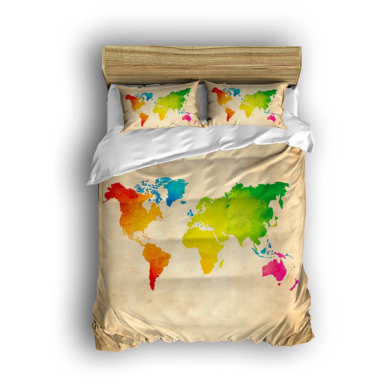 Compra vintage world map bedding y disfruta del envo gratuito en compra vintage world map bedding y disfruta del envo gratuito en aliexpress gumiabroncs Image collections