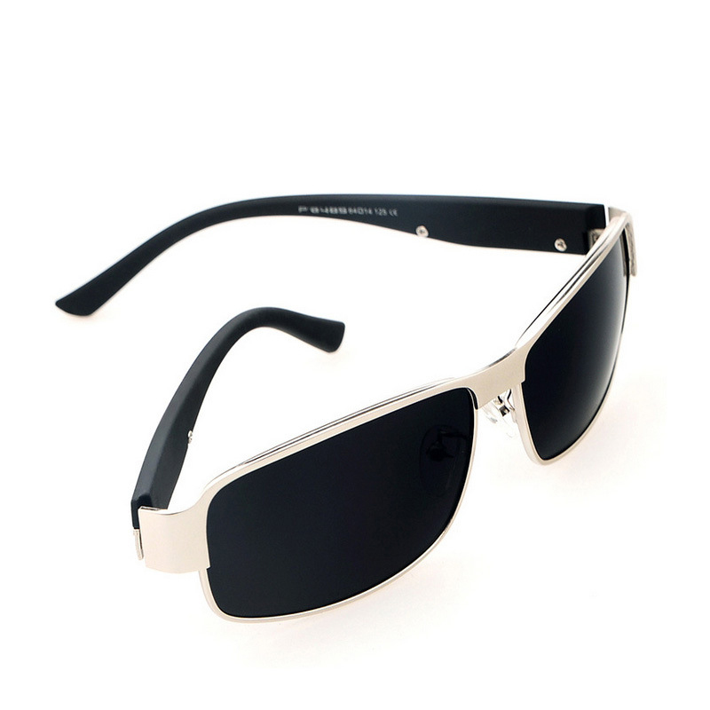 Image 2 - High quality Square Sunglasses Polarization Driving Sunglasse men Free shipping UV400 HD Comfortable Sunglasses Men-in Driver Goggles from Automobiles & Motorcycles