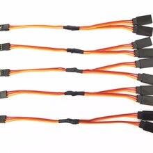 5 шт. 15 см/30 см сервопривод Y удлинитель провод кабель для Futaba JR сервопривод часть