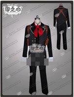Новый аниме bioshock3 Cospaly Костюм Букер Девитт костюм топ + Брюки для девочек + Куртки + жилет + ремень + плечевой пояс + sundaybag + шейный платок