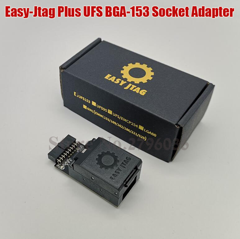 US $99 0 |2019 Easy Jtag Plus box UFS BGA 153 Sockets Adapter-in Telecom  Parts from Cellphones & Telecommunications on Aliexpress com | Alibaba Group
