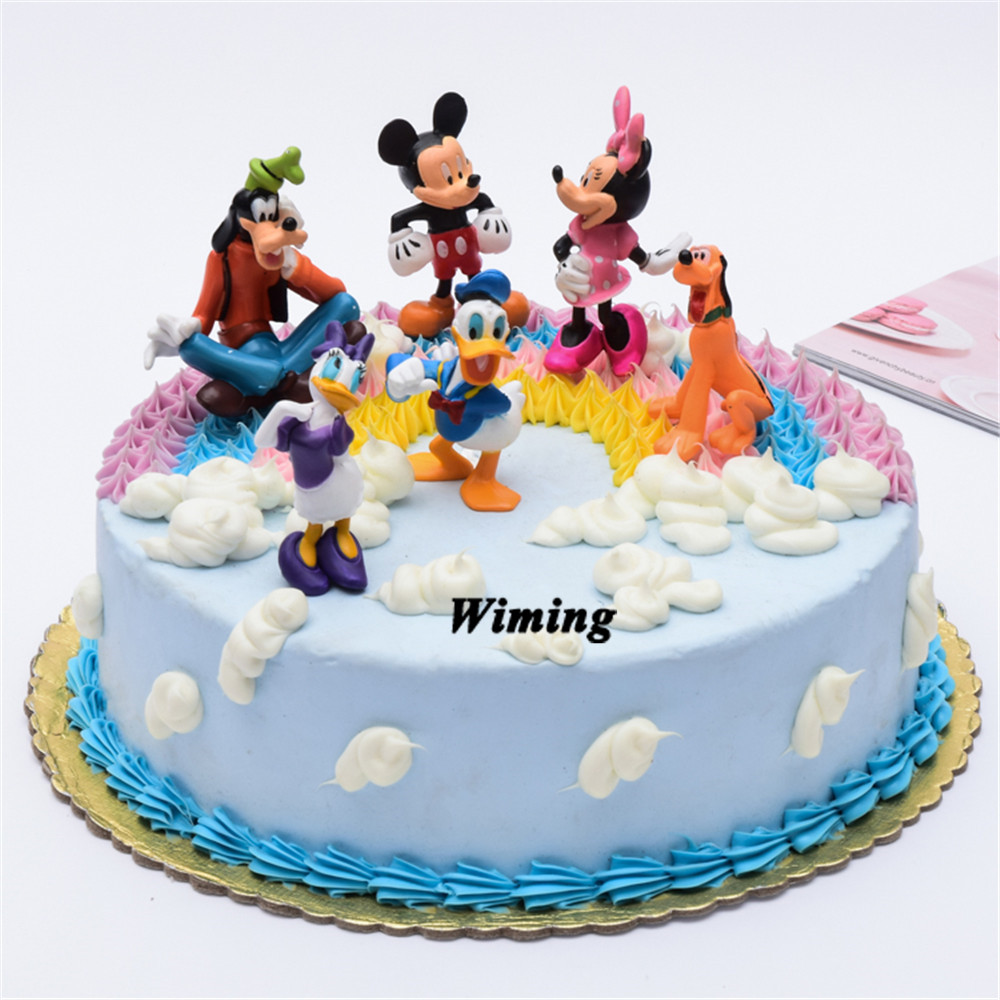 Fabulous Toy Mickey Birthday Supplies Cupcake Toppers Ts For Girls Kids Funny Birthday Cards Online Elaedamsfinfo