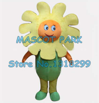 little yellow sun flower mascot costume adult size cartoon wild flower theme school performing costumes carnival fancy dress toy story costumes adult
