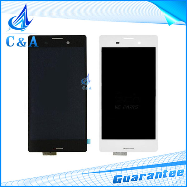 1 piece free shipping black white replacement repair parts for Sony Xperia M4 Aqua E2303 E2333 lcd display with touch screen