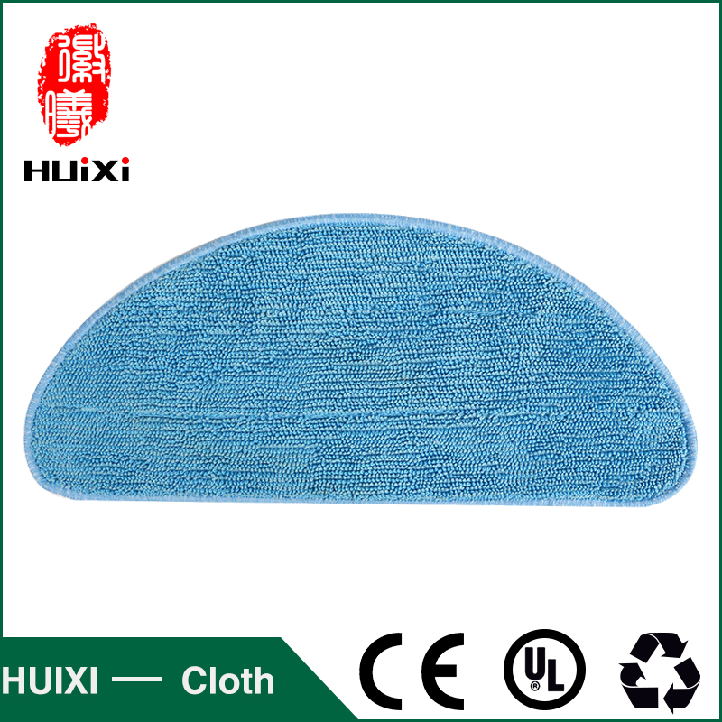 High-efficiency Cleaning Cloth Blue Microfiber Mop Cloth to Clean Dust for XL580 CEN540 CEN540-MI robot vacuum cleaner for home