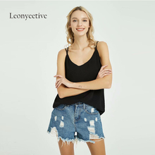 4e37b41e4c New 2019 Spring Summer Women Tank top Oversize Big Plus Size Ladies Casual  chiffon fashion Double