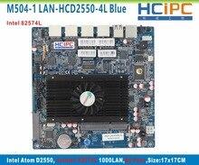 HCiPC M504-1 LAN-HCD2550-4L(Blue) D2550 4LAN Motherboard,By Pass Multi LAN 4LAN Firewall Motherboard,4LAN Router,Firewall System